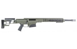 "Barrett 14380 MRAD Bolt .338 Lapua Mag 24"" 10+1 Folding OD Green Stock OD Green/Black"