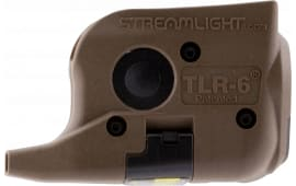 Streamlight 69278 TLR-6 Laser/Light Combo 100 Lumens CR-1/3N (2) Flat Dark Earth