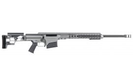 "Barrett 14388 MRAD Bolt .338 Lapua Mag 26"" 10+1 Folding Gray Stock Gray Cerakote/Black"