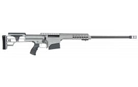 "Barrett 14803 M98B .300 Win 24"" 10+1 Fixed Metal Gray Stock Gray Cerakote"