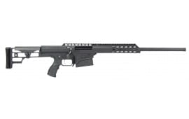 "Barrett 14809 M98B 308 Winchester 18"" 10+1 Fixed Metal Black"