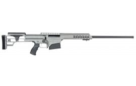 "Barrett 14813 M98B .300 Win 24"" 10+1 Fixed Metal Gray Stock Gray Cerakote"