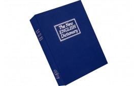 "Bulldog BD1180 Deluxe Diversion Book Safe 7.75"" W x 10.5"" H x 2.75"" D (Exterior) Blue"