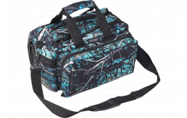 "Bulldog BD910SRN Deluxe Range Bag with Strap Tactical Nylon 13"" x 7"" x 7"" Serenity Camo"