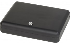 "Bulldog BD1128 Pesonal Vault Key Lock & Security Cable Gun Safe Key Key 11"" L x 8.5"" W x 2.25"" D (Exterior) 16GA Steel Black"