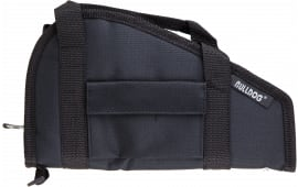 "Bulldog BD602 Pistol Rug Large 18"" x 8"" w/Pocket Water-Resistant Nylon Textured Black"