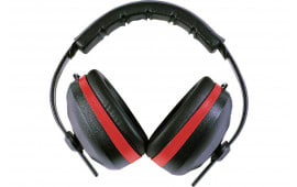 Radians SL0130CS Silencer Earmuffs NRR 26dB Red/Black