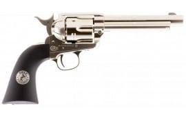 Umarex USA 2254051 Colt Peacemaker Air Pistol Revolver .177 Pellet Nickel