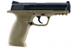 Umarex USA 2255051 Smith & Wesson M&P Air Pistol Double .177 BB Brown/Black