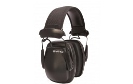 Howard Leight 1030110 Sync Stereo Earmuffs Electronic 25 dB Black