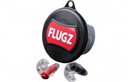Otis FGFL1C Flugz 21dB Earplugs Black/Red