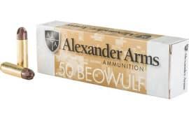 Alexander Firearms AB200ARXBX 50 Beowulf 200 ARX 20/20 - 20rd Box