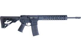 "Luxus Arms (HM DEFENSE) HM15F-MB-556 Defender M5 16.00"" 30+1 Black Hardcoat Anodized Black Mil-Spec HM Stock"