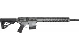 "Luxus Arms (HM DEFENSE) HM10-MB-308 Avenger M308 18.00"" 10+1 Black Hardcoat Anodized Black Mil-Spec HM Stock"