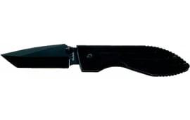 "Ka-Bar 3074 Warthog Folder 3"" 5Cr15 Stainless Steel Tanto G10 Black"