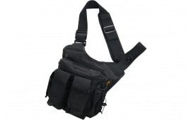 "US PeaceKeeper P20307 Rapid Deployment Pack Range Bag Tactical 600D Polyester 12"" x 10"" x 3"" Black"