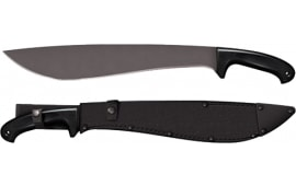 "Cold Steel 97JMS Jungle Machete 16"" 1055 Carbon Steel Black Blade Poly Handle"