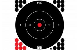 "Pro-Shot 12B-WHTE-TG-12PK 12"" Splattr Shot Bullseye"