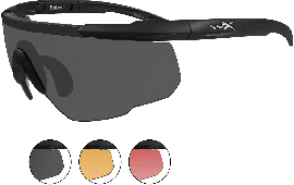Wiley X Eyewear 309 Saber Advanced Safety Glasses Matte Black