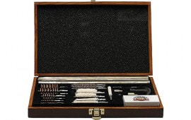 DAC UGC76W Universal Deluxe Gun Cleaning Kit WoodBox 35-Piece