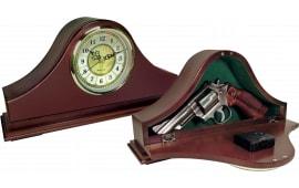 "Peace Keeper MGC Mantle Gun Clock Concealment 14""x7.38""x3.75"" Wood"