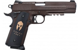"Sig Sauer Airguns 1911 Spartan Air Pistol Single 4.9"" .177 BB Bronze"