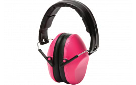 Pyramex VGPM9010PC VG90 Adult Earmuff 22 dB Black/Pink