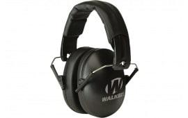 Walkers Game Ear GWPYWFM2BLK Youth & Women Folding Ear Muff 27 dB Black