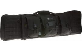 """Drago Gear 12-303BL Single Gun Case 43"""" x 11.5"""" x 10"""" Exterior 600D Polyester Black"""