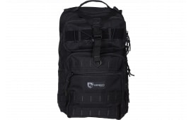 "Drago Gear 14308BL Atlus Sling Backpack Tactical 600D Polyester 19"" x 11"" x 10"" Black"