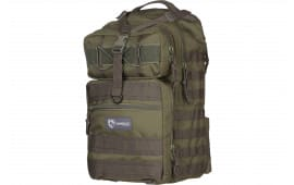 "Drago Gear 14308 GR Atlus Sling Backpack Tactical 600D Polyester 19"" x 11"" x 10"" Green"
