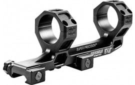 Geissele Automatics 05381B 1-Pc Base & Ring Combo For AR-15 1-Piece Style Black Hard Coat Anodized Finish