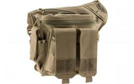 """G*Outdoors 981rdP Rapid Deployment Pack Tan Range Bag/Messenger Bag 600D Polyester 10"""" x 3"""" x 13"""""""