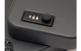 "SnapSafe 75230 Lock Box Combo Lock Pistol Safe Dial Multiple 9.25"" x 6.25"" x 1.75"" 16GA Steel Black"