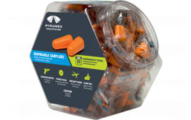 Pyramex PYDP1000BN Disposable Earplugs Bin 32 dB Orange 100 Pair