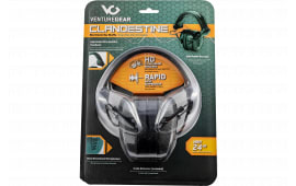 Pyramex VGPME17 Clandestine Electronic Earmuff 24 dB Graphite