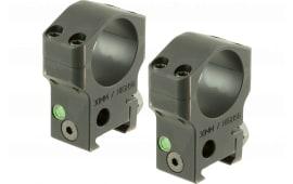 "Accu-Tac HSR-300 HSR-30 Ring Set 30mm Dia 1.3"" Black"