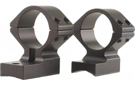 """Talley 940734 Rings and Base Set For Weatherby Vanguard 1"""" Medium Black Matte Finish"""