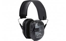 Walkers Game Ear GWPXPMB Ultimate Series Power Muff Black Earmuff 27 dB