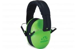 Walkers Game Ear GWPFKDMLG Passive Baby & Kids Folding Earmuff 23 dB Green