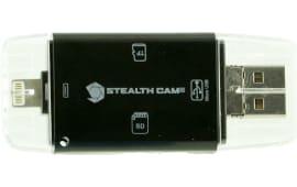 Stealth Cam STC-DDMCR Triple Connection Memory Card Reader