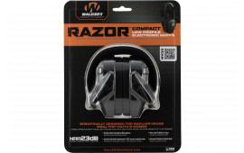Walkers Game Ear Gwpcrsem Razor Electronic Compact Muff 23 dB Black