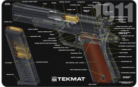 "Tekmat R171911CA 1911 3D Cutaway Cleaning Mat Printed Diagram 17"" x 11"""