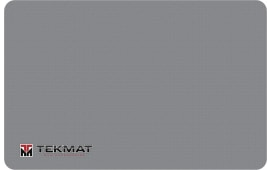 "Tekmat R17TMLOGOGY Logo Cleaning Mat Tekmat Logo 17"" x 11"" Grey"