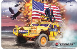 "Tekmat R17TRUMP Trump Cleaning Mat Freedom Portrait 17"" x 11"" Multi-Color"