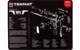 "Tekmat R201911 1911 3D Ultra Premium Cleaning Mat 1911 Diagram 20"" x 15"" Multi-Color"