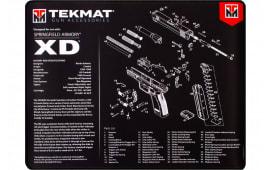 "Tekmat R20XD Springfield XD Ultra Premium Cleaning Mat Springfield XD Parts Diagram 20"" x 15"" Black/White"