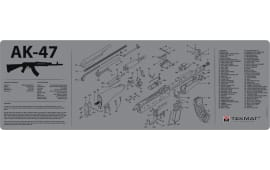 "Tekmat R36AK47GY AK-47 Cleaning Mat AK-47 Parts Diagram 36"" x 12"" Grey"