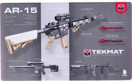 "Tekmat 42AR15WPD AR-15 Weapons Platform Design Door Mat AR-15 Design 25"" x 42"" Multi-Color"