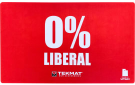 "Tekmat 42LIBERAL Zero Percent Liberal Door Mat 0% Liberal 25"" x 42"" Red"